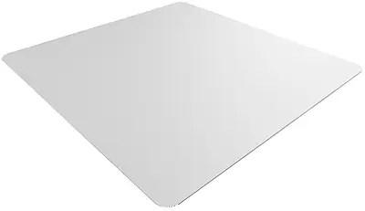 desk chair mat for carpet staples lorell executive mesh office mats flooring medium pile and hard floor 46 x 48