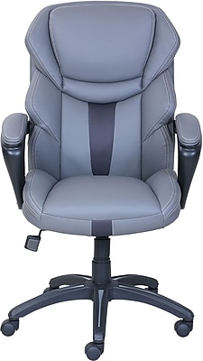 staples ergonomic mesh executive chair with headrest antique chinese chairs for sale dormeo espo octaspring faux leather managers office fixed https www 3p com s7 is