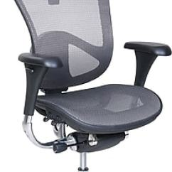 Staples Ergonomic Mesh Executive Chair With Headrest Accessories Serta Rincon Computer And Desk Office Chair, Fixed Arms, Gray/silver (46024) | Staples®