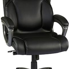 Leather Chair Office Hanging Nl Staples Washburn Bonded Black Https Www 3p Com S7 Is