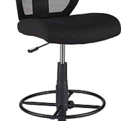 Drafting Chairs Staples Eames Replica Nz Chair Cabal Mesh Armless And Fabric Stool Black