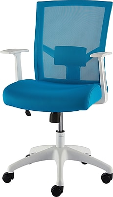 Staples Ardfield Mesh Task Chair Teal  Staples