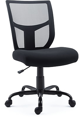 Staples Mesh and Fabric Task Chair  Staples