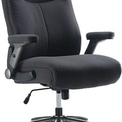 Guy Brown Office Chairs 8 Dining Big Tall Oversized Leather Staples Whitcomb Fabric Task Chair