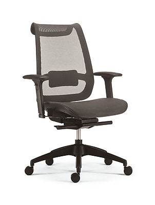 chairs for office swivel vanity chair cheap buy computer desk staples ilano mesh task grey