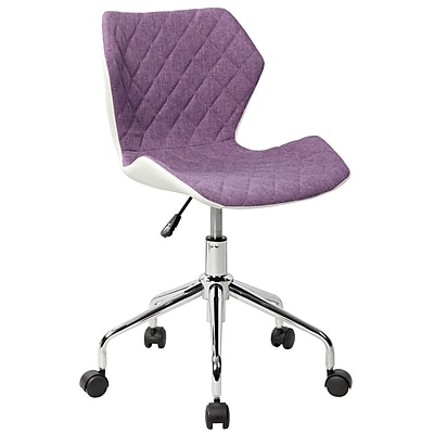 lilac office chair revolving in gem techni mobili modern height adjustable task purple rta 3236 ppl