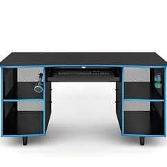 Staples Desks And Chairs Karlstad Chair Slipcover Emergent Gaming Desk Black Spus Egdb Https Www 3p Com S7 Is