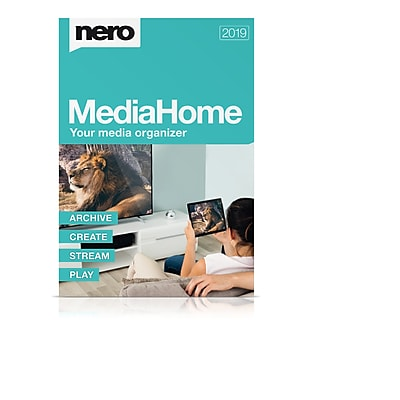 Shop Staples for Nero MediaHome 2019 for 1 User. Windows. Download (AMER-11790000/639)