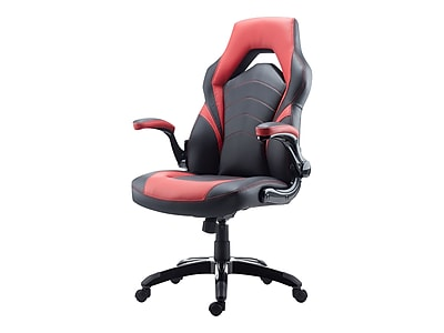red desk chair staples medical shower chairs gaming black and https www 3p com s7 is