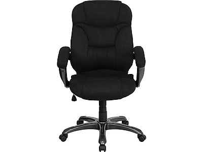 microfiber office chair purple reading flash furniture high back contemporary chairs staples