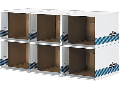 bankers box file cube