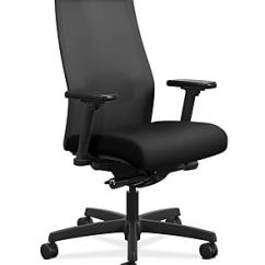 Hon Desk Chair Office Accessories In Singapore Chairs Staples Ignition 2 0 Mesh Back Fabric Computer And Black Hiwmmkd Y2