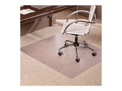 office chair mats carpet staples what is a rail height 46 x 60 low pile mat rectangular https www 3p com s7