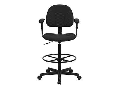 drafting chairs staples grey mesh office chair flash furniture ergonomic fabric stool adjustable arms https www 3p com s7 is