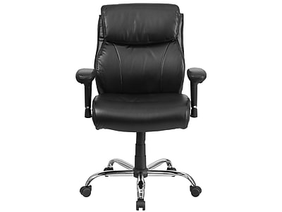 big and tall computer chair cj tables chairs office oversized leather staples flash furniture hercules leathersoft desk black go