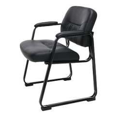 Meeting Room Chairs Mainstays Office Chair Conference Ofm Essentials Leather Black Ess 9015