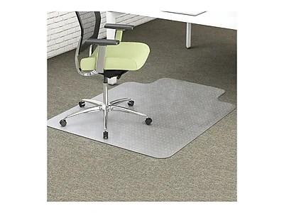 office chair mats carpet staples folding with umbrella deflect o environmat pet studded mat clear 48 l x 36 w https www 3p com s7 is