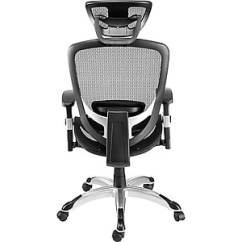 Staples Ergonomic Mesh Executive Chair With Headrest Pad Hyken Technical Task Black Https Www 3p Com S7 Is