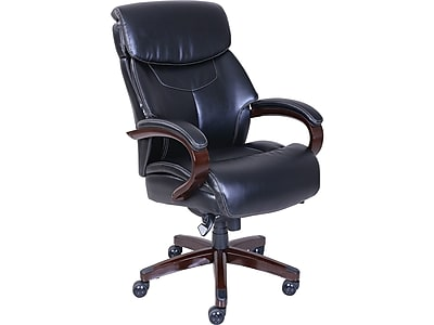 la z boy big tall executive leather office chair black most expensive design bradley fixed arms faux 46089 cc https www staples 3p com s7 is