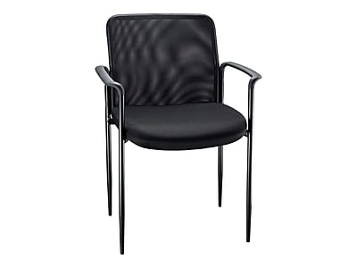 hon invitation guest chair swivel retro staples roaken mesh with arms black https www 3p com s7 is