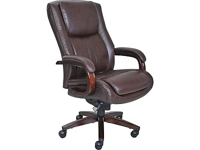 staples ergonomic mesh executive chair with headrest modern chairs la z boy winston leather office fixed arms brown https www 3p com s7 is