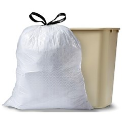 Glad Tall Kitchen Drawstring Trash Bags Metal Chairs 13 Gallon 100 Box White Https Www Staples 3p Com S7 Is