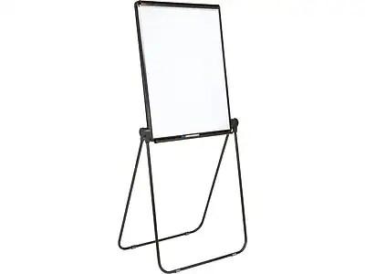 also staples whiteboard flip chart easel black frame rh