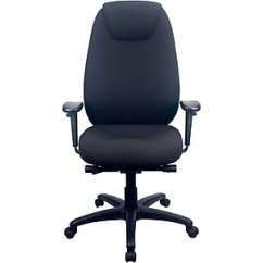 Serta Office Chair Warranty Claim Black Metal And Wood Dining Chairs Tempur Pedic Staples 6400 Fabric Computer Desk Tp6400 Blk