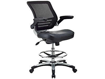 drafting chairs staples lorell executive high back chair modway eei 211 black https www 3p com s7 is