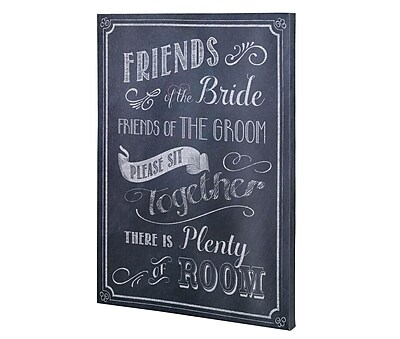 Lillian rose wedding ceremony seating sign si sb also chart rh staples