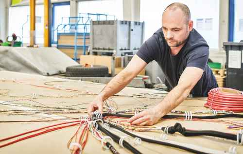 small resolution of wiring harness production