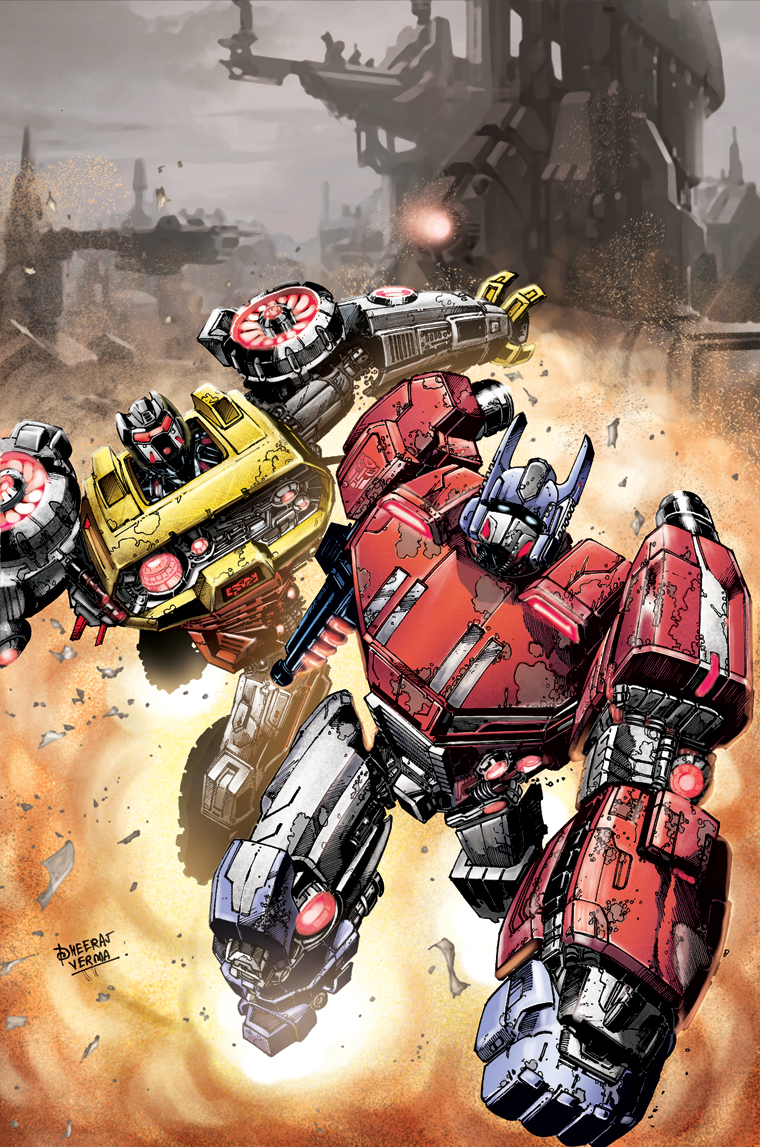 Comic Review Transformers Fall of Cybertron 1 of 6  Stardub