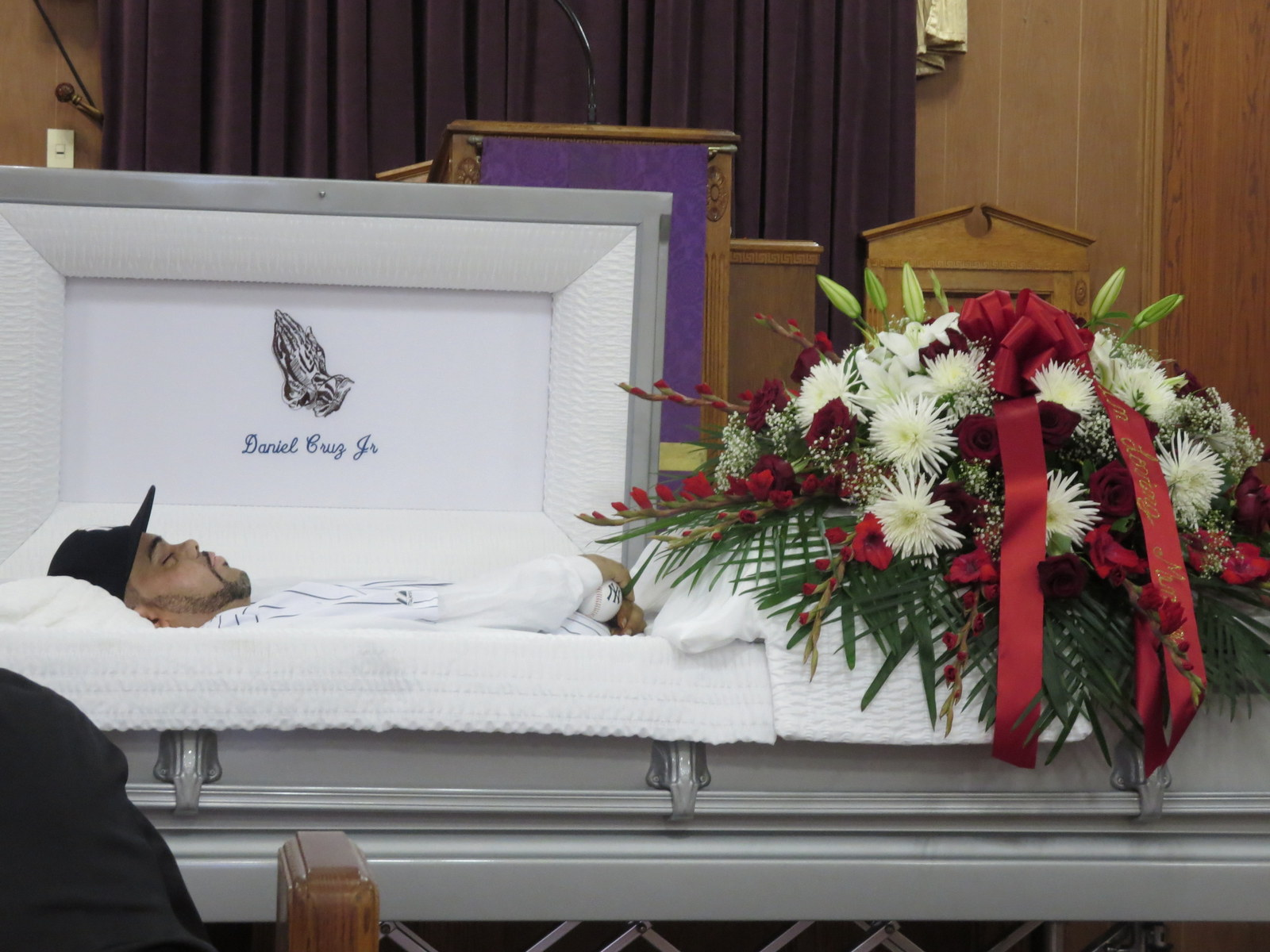 Daniel Cruz Remembered In Funeral Service By George Fiala Red