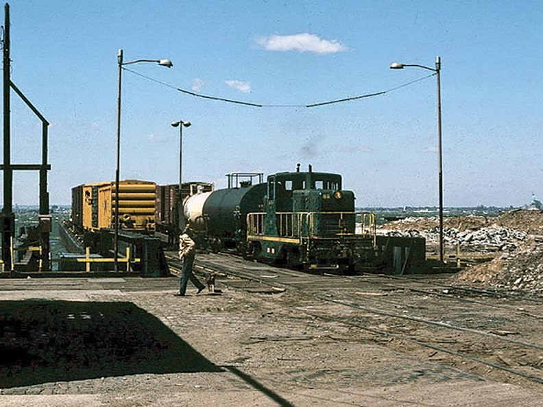 There was once an intermodal connection at 50th Street.
