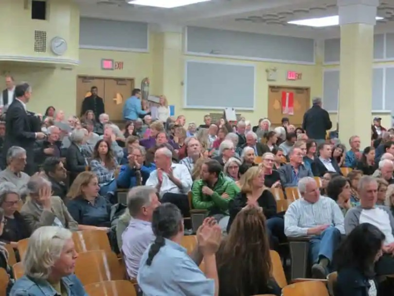 It was a packed house at the annual CHA meeting that took place in the PS 29 auditorium.