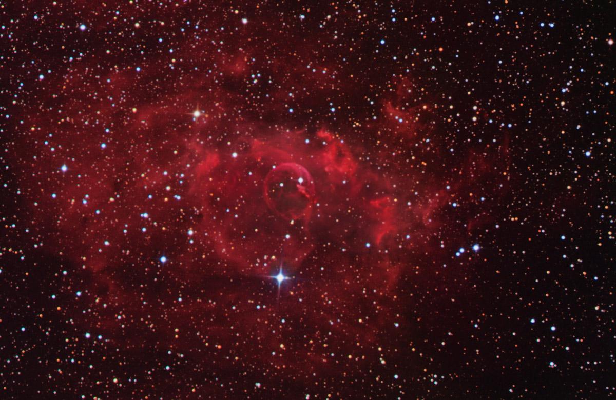 Apod 2003 January 17 Stars And The Bubble Nebula
