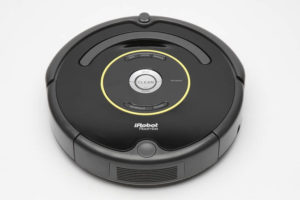 GEORGE F. LEE / 2013                                 An iRobot Roomba.