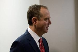 ASSOCIATED PRESS                                 Rep. Adam Schiff, D-Calif., Chairman of the House Intelligence Committee, arrived at a closed-door meeting on the ongoing House impeachment inquiry into President Donald Trump on Capitol Hill in Washington, Tuesday.