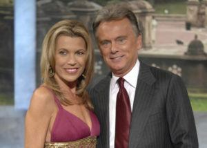 "ASSOCIATED PRESS                                 In this Sept. 29, 2007 file photo, co-host Vanna White and host Pat Sajak make an appearance at Radio City Music Hall for a taping of celebrity week on ""Wheel of Fortune"" in New York. Sajak had to have emergency surgery, and his longtime sidekick Vanna White is filling in as host while he recovers."