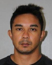 COURTESY KAUAI POLICE DEPARTMENT                                 KPD officer Royce Kaauwai Jr., 29, was arrested on suspicion of abuse of a family or household member.