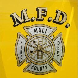 COURTESY MAUI FIRE DEPARTMENT
