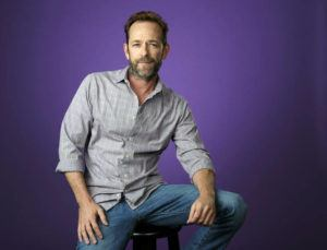 "CHRIS PIZZELLO/INVISION/ASSOCIATED PRESS                                 Luke Perry posed for a portrait during the 2018 Television Critics Association Summer Press Tour in Beverly Hills, Calif. The ""Riverdale"" and ""Beverly Hills, 90210"" star died this year at age 52."