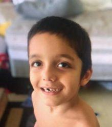 COURTESY HAWAII POLICE DEPARTMENT                                 Benny Rapoza, 6, was last seen today in the 2100 block of Kalanianaole Avenue. He is reported to be missing.