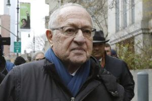 ASSOCIATED PRESS / Dec. 2                                 Attorney Alan Dershowitz leaves federal court, in New York last month. President Donald Trump's legal team will include the former Harvard University law professor and Ken Starr, the former independent counsel who led the Whitewater investigation into President Bill Clinton.