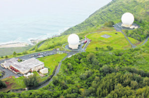 COURTESY PHOTO The Kaena Point Satellite Tracking Station is run by the Air Force. A new Homeland Defense Radar-Hawaii may be built next to it.