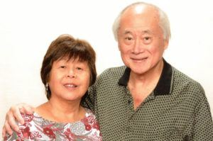 PHOTO COURTESY OF THE TOKUDAS                                 Two Hawaii couples who were on the Diamond Princess cruise ship and currently quarantined in a California military base are free of the novel coronavirus, COVID-19. Nearing the end of their second two-week quarantine at Travis Air Force Base in Solano County, Calif., Irene Tokuda, 68, from Kaneohe and her husband, Eugene, 73, have tested negative for the virus so far.