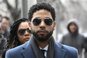 ASSOCIATED PRESS / 2019                                 Empire actor Jussie Smollett arrives at the Leighton Criminal Court Building for his hearing in Chicago. Smollett faces new charges for reporting an attack that Chicago authorities contend was staged to garner publicity, according to media reports today. The charges include disorderly conduct counts, according to the reports that cite unidentified sources.