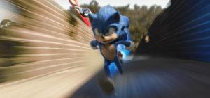 "COURTESY PARAMOUNT PICTURES                                 Sonic, voiced by Ben Schwartz, in a scene from ""Sonic the Hedgehog ."""
