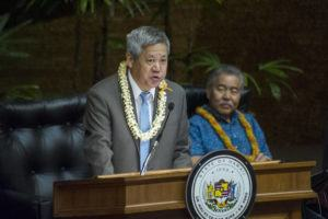 CRAIG T. KOJIMA / May 2                                 House Speaker Scott Saiki said today that the Hawaii Legislature would convene a committee on the potential economic impact of the coronavirus on the islands.