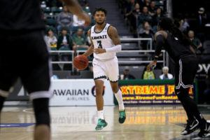 ANDREW LEE / FEB. 12                                 Hawaii's Eddie Stansberry scored 31 in today's loss.